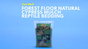 zoo med forest floor natural cypress mulch reptile bedding 24 qt bag chewy com