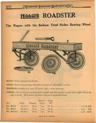 1927 Ad Hibbard Roadster Wood Coaster Wagon Vintage Wagons