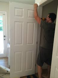 Updating Closet Doors Livelovediy Our 1970s House Makeover Part 9 The Office Makeover