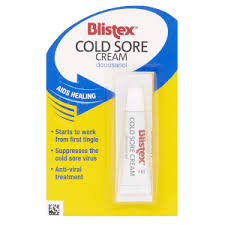 blistex relief cream lip balm for cold