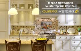 cost of quartz countertops installed