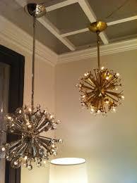 mini sputnik chandelier in nickel and brassjonathan adler for throughout preferred mini sputnik chandeliers gallery