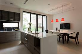 Kitchen Diner Flooring Contemporary Kitchen Best Contemporary Kitchen Design Ideas For