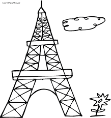 Small Picture Best Eiffel Tower Coloring Pages For Kids 17894 Bestofcoloringcom