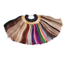 Neitsi Universal Color Ring Human Hair Extension Color Chart For Hair Extension Salon 85 Colors