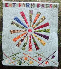 Fresh and Lively Garden Quilt Patterns & Eat Farm Fresh Quilt Adamdwight.com