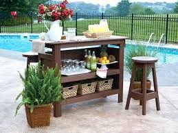 diy patio bar. Build Your Own Patio Bar Outdoor Marketing Visible Easy Diy I