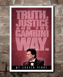 My Cousin Vinny Quotes Unique MY COUSIN VINNY Gambini Way Quote Poster