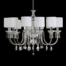 elegant blown glass crystal chandelier