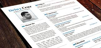 Cool Resume Templates Word Free Creative Resume Templates Word