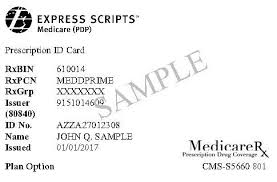 Of Medicare Pdp Scripts Express 2017 Coverage Evidence