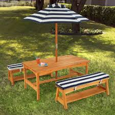 outdoor table and chair sets. Image Of: Kidkraft Outdoor Furniture Table And Bench Chair Sets
