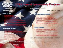 Event Programs Associated Builders And Contractors Bayou Chapter Events