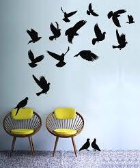 bird wall decals design