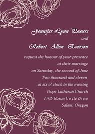 Vintage Plum Rose Elegant Wedding Invitation Cards Online Ewi142