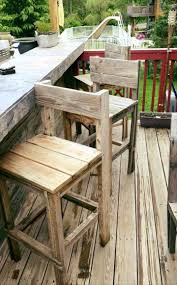 pallet bar stools or chairs 70 pallet ideas for home decor pallet furniture diy part 4