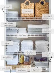 organized bathroom linen closet anyone can have kelley nan elfa door system w