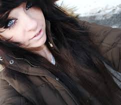in scene hair brown and black this is similar to what my hair color is if i could just sylebit riiight