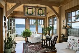 Small Cabin Living Room A Pacific Coast Cottage Smart Cabin Design