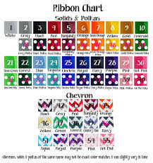 Wedding Color Chart Solid Ribbon Charts Bridal Flip Flops Wedding Flip Flops