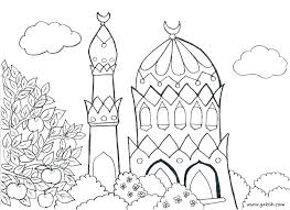 Islamic Mosaic Coloring Pages New Kids Page Printable For Adults P