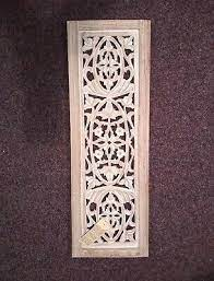 decorative wooden panel carved wood