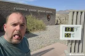 Death Valley top 5 again 130-degree ...