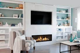 brilliant linear fireplace idea and decor top design ga wall with mantel electric tv tile