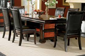 latest dining tables: black dining table marvelous sleek black dining table sleek black