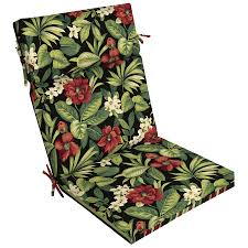 display product reviews for 1 piece sanibel black tropical patio chaise lounge chair cushion