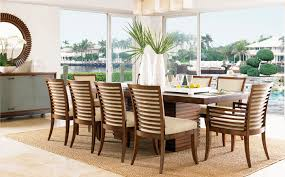 ocean club dining table and chair set
