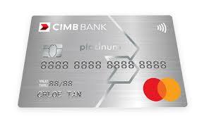 cimb platinum mastercard 10