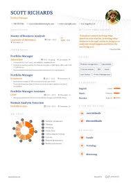 Job Application Portfolio Example Portfolio Manager Resume Example And Guide For 2019
