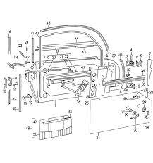 porsche 356 356a parts door accessories