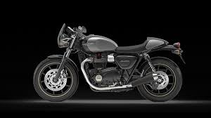 900cc t100 t100 black and street cup
