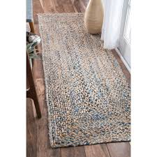 home interior simple nuloom runner rugs nuloom traditional distressed grey rug 2 8 x from
