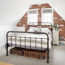 loft room furniture. attic bedroom with brick walls loft room furniture