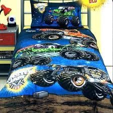 monster trucks bedding sets grave digger truck bed set jam queen quilt doona duvet cover comforter truck bedding full size monster