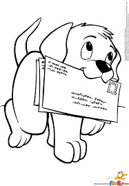 Free Puppy Dog Carrying Letters To