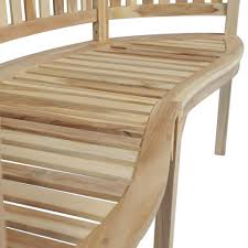 this banana shaped bench is comfortable and elegant and will look simply stunning in the garden or on the patio