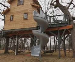 kids tree houses with slides. Tree House Slide Kids Houses With Slides
