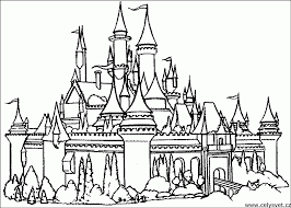 1671 x 2204 jpeg 457 кб. Disney Castle Coloring Pages Printable Coloring Home