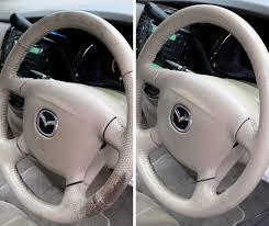 four types of steering wheel repair