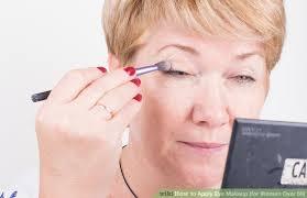 image led apply eye makeup for women over 50 step 8