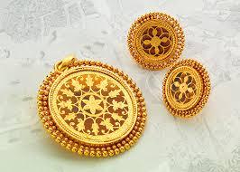 pendant sets gold jewellery designs