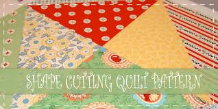 Shape Cutting Quilt Pattern | Sewing For Beginners | Pinterest ... & 10 Free Layer Cake Quilt Patterns For Beginners Adamdwight.com