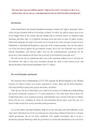 how to write a paper effectively assistant chef resume examples right to bear arms essay