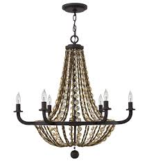 fredrick ramond fr42866vbz hamlet vintage bronze 6 light chandelier undefined