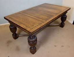 Large Draw Leaf Dining Table C1920 10786 La76322 Loveantiquescom