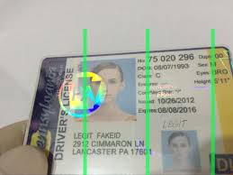 Id Scannable Legitfakeid Page Images One Fake